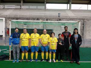 Parahóquei: Academia sagrou-se campeã nacional