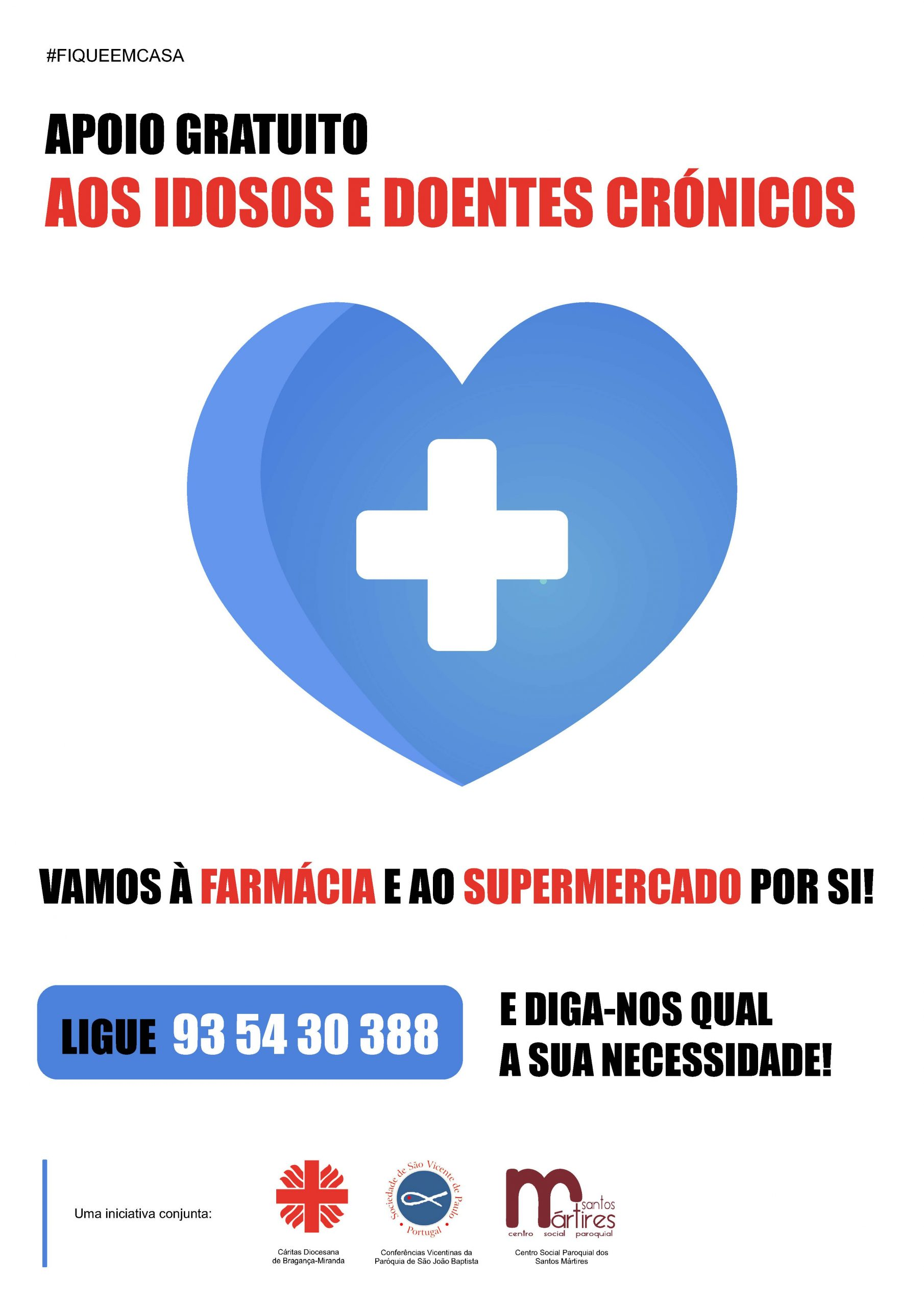 Covid19: Instituições de Bragança unidas no apoio aos mais vulneráveis