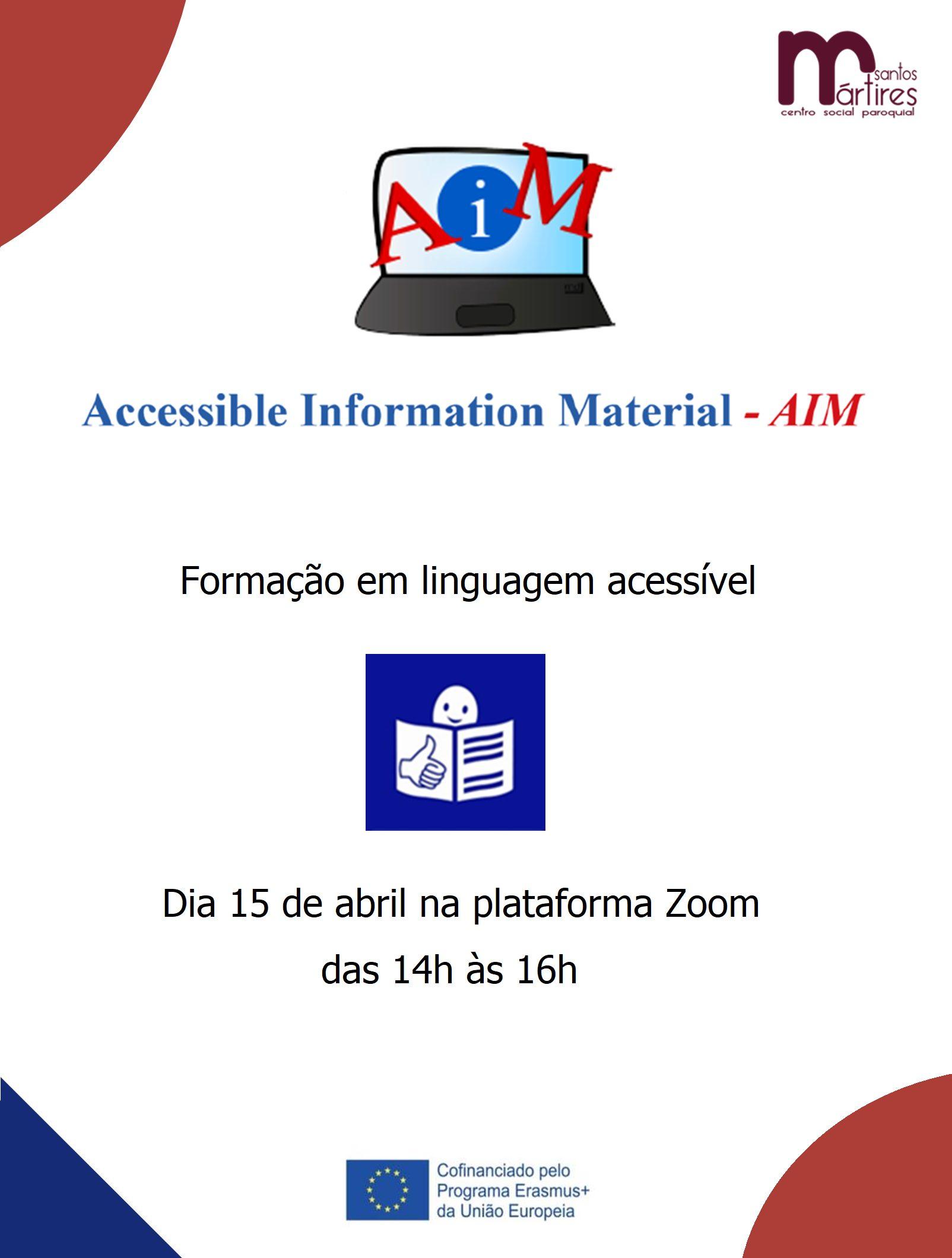 AIM Formação em linguagem acessível